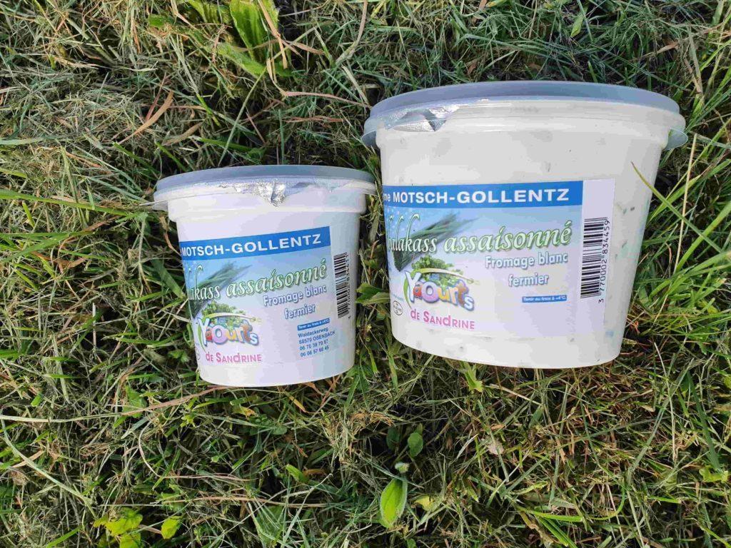 Bibalakas (Fromage blanc fermier) nature 250 et 500 gr