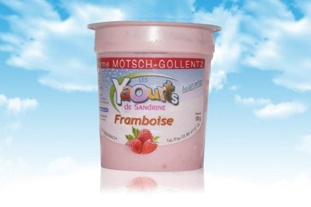 le yaourt Sandrine arôme Framboise 68 Osenbach